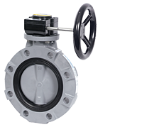 BYV Series Butterfly Valves - Gear Operated