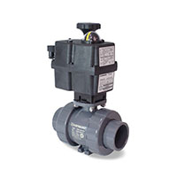 ECP Series Automated with TBH True Union Ball Valves