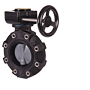 BYV Series Butterfly Lugged Valves - Gear Operated